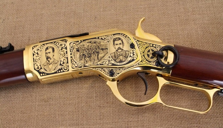 Wyatt Earp Sesquicentennial Tribute Rifle