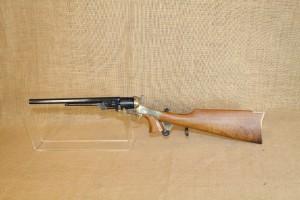 Revolver Colt 1851 Buntline calibre 44 avec crosse