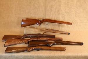 Lot de 6 crosses pour carabine 22Lr/9mm à restaurer