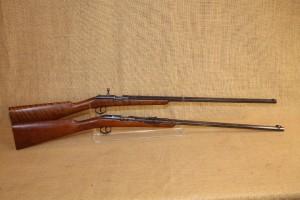 Ensemble de 2 carabines 22LR Husqvarna mono-coup