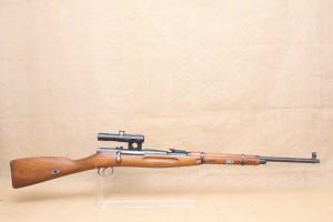 Carabine Mosin Nagant WZ 48 avec lunette PU calibre 22 LR