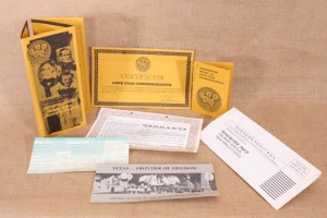 Certificat Lone Star Commemorative Winchester modèle 94