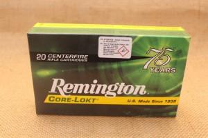 Munition Remington Core-Lokt calibre 30-06 Springfield, 150 grain PSP