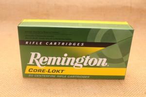 Munition Remington Core-Lokt calibre 243 WIN, 100 grain PSP