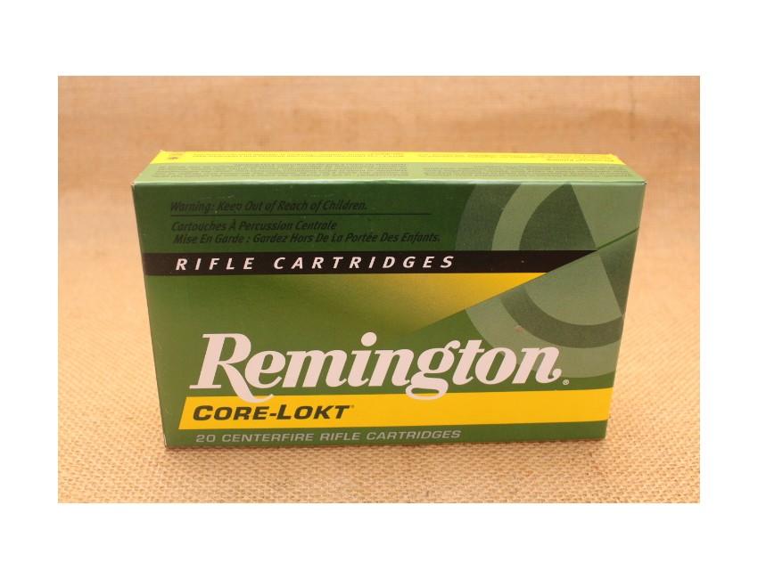 Munition Remington Core-Lokt calibre 7x64, 140 grain PSP