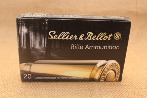 Munition Sellier & Bellot calibre 8x57 JR, 196 grain SP