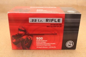Munition GECO calibre 22lr, 40 grain RIFLE