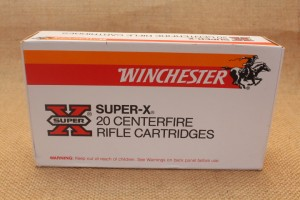 Munition Winchester Super-X calibre 458 Winchester MAG, 510 grain SP