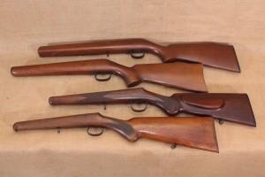 Lot de 4 crosses pour carabine 22Lr/9mm à restaurer