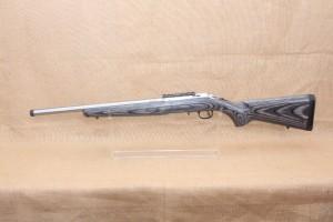 Carabine RUGER AMERICAN RIMFIRE TARGET INOX calibre 17 Hmr