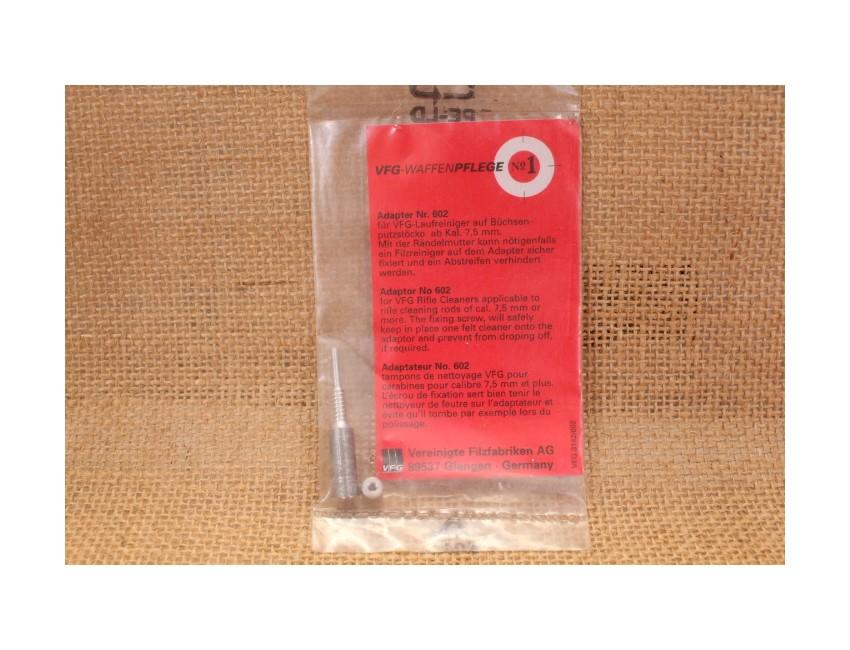 Adaptateur pour tampon de nettoyage calibre 7,5mm