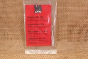Adaptateur pour tampon de nettoyage calibre 7 mm et plus