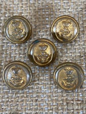Lot de boutons Marine