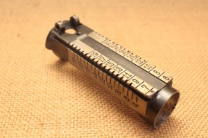 Corps de hausse nu pour Mauser Péruvien M1909