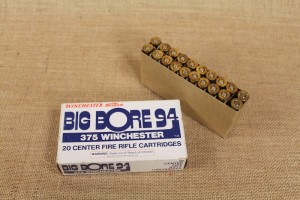 Munition de collection Big Bore en calibre 375 W.